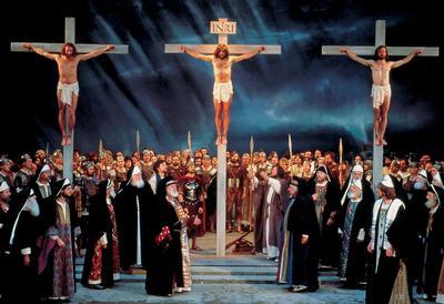 Crucifixion Uberamergau Passion